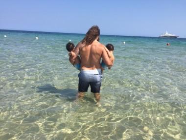 #LaPrimaVolta al mare con i miei nipotini
